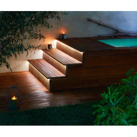 escalier modulesca bois ou dalle 100cm. Black Bedroom Furniture Sets. Home Design Ideas