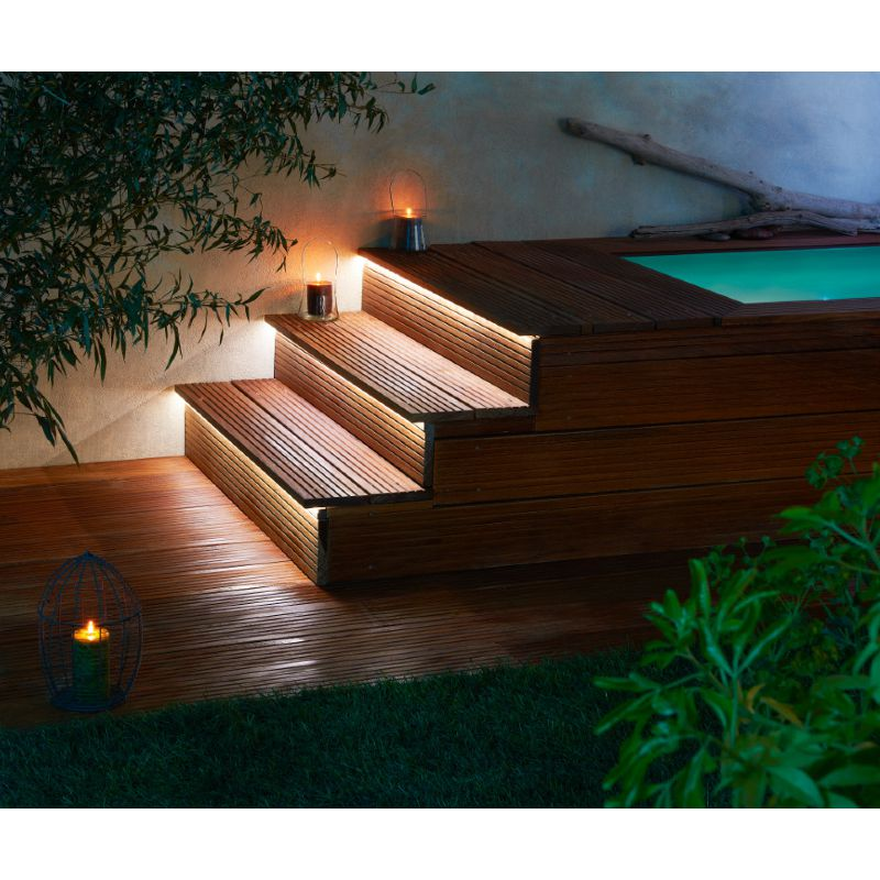 Escalier modulesca bois ou dalle 100cm for Tarif escalier bois