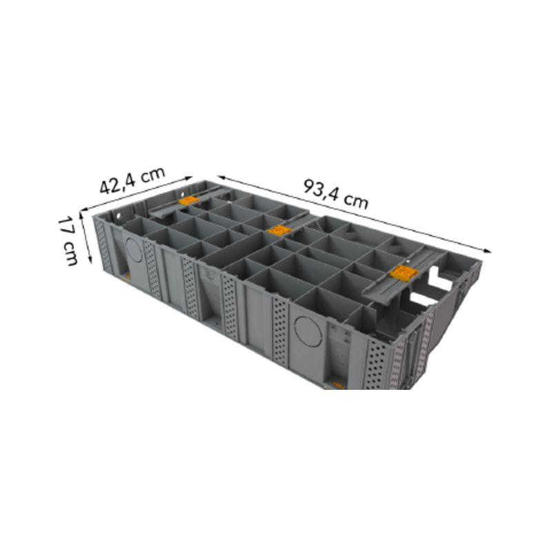 Escalier modulesca bois ou dalle 100 cm modulesca plots - Escalier prix discount ...