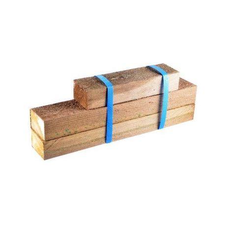 Kit de 3 lambourdes Bois pour marche modulesca