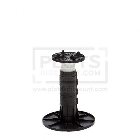 adjustable pedestals 225 265 mm for slabs, tiles or ceramics