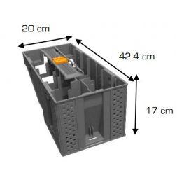 marche escalier modulesca bois ou dalle 20 cm
