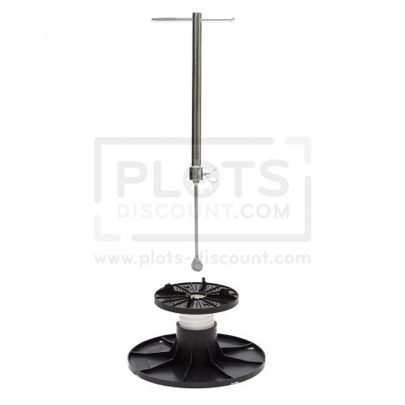 Adjustable pedestal 70 105 mm for slabs, tiles or ceramics
