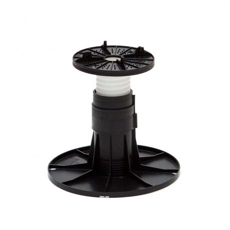 Adjustable pedestal 145 185 mm for slabs, tiles or ceramics
