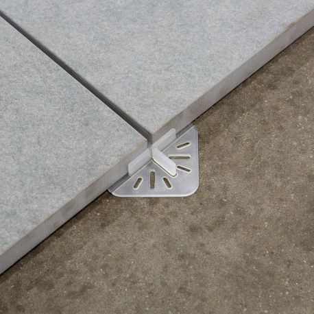Lot 48 croisillons stabilisateur Jouplast CrossDalle 3 mm pour dalle céramique