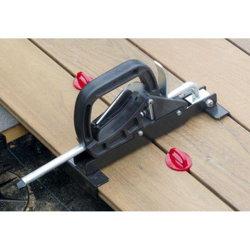 press deck decking lath straightener. Black Bedroom Furniture Sets. Home Design Ideas