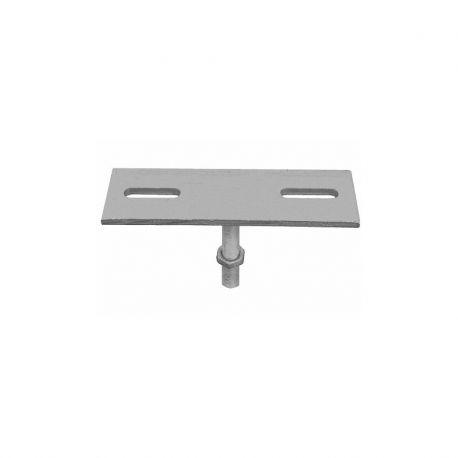 Connecteur en acier galvanisé réglable en hauteur