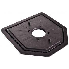 Plaque a dalle cleman - Dimensions : 218 mm x 218 mm
