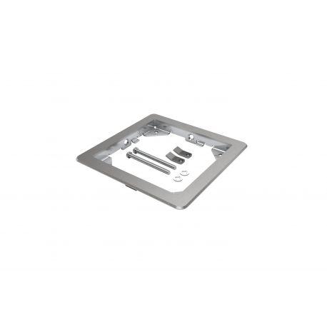 Kit inox faux-plancher pour 1 boitier BFB160 + 1 couvercle BFC1xx/2