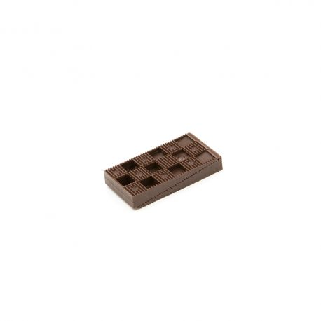 Sachet de 4 Cales crantées multi-usages - Dimensions : 25x60x150mm - ROUGES