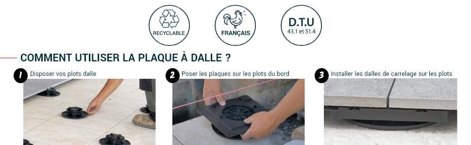 Encore 61670 Pilier-plaques