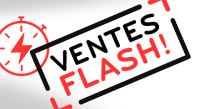 photo vente flash