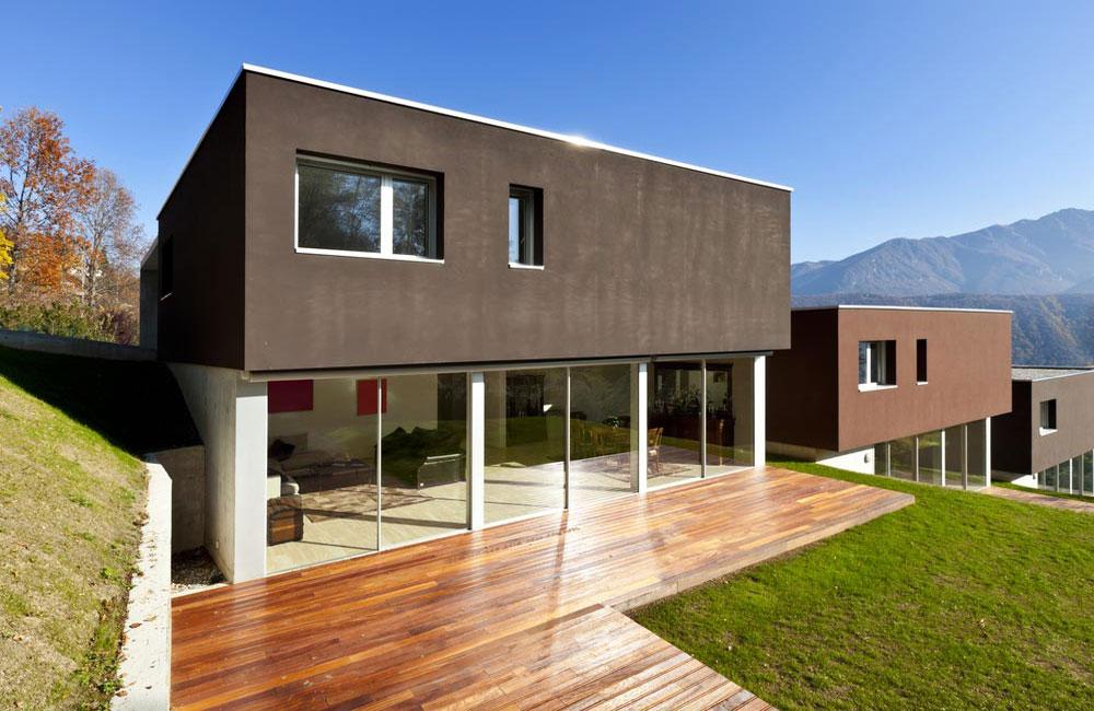 Coin terrasse en bois pour jardin