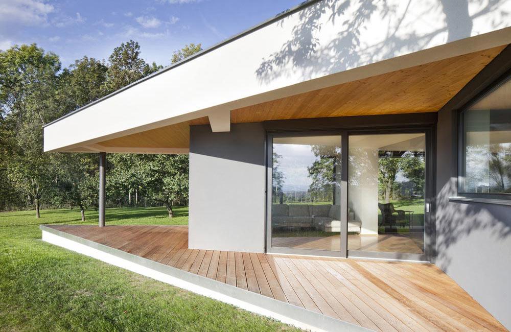 Petite terrasse en bois