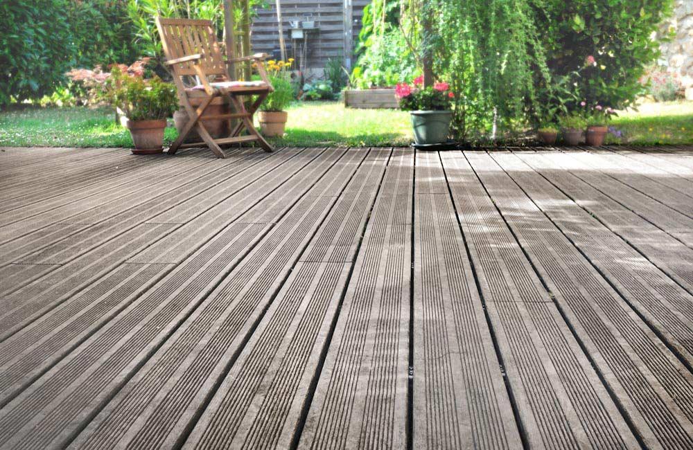 Terrasse design en bois