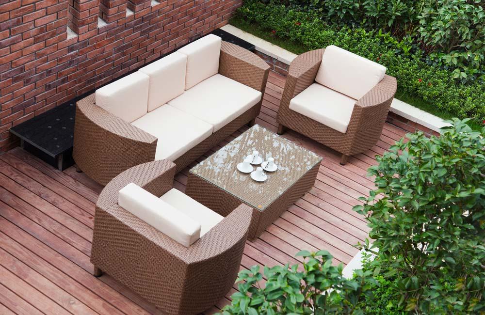 Terrasse design à prix discount