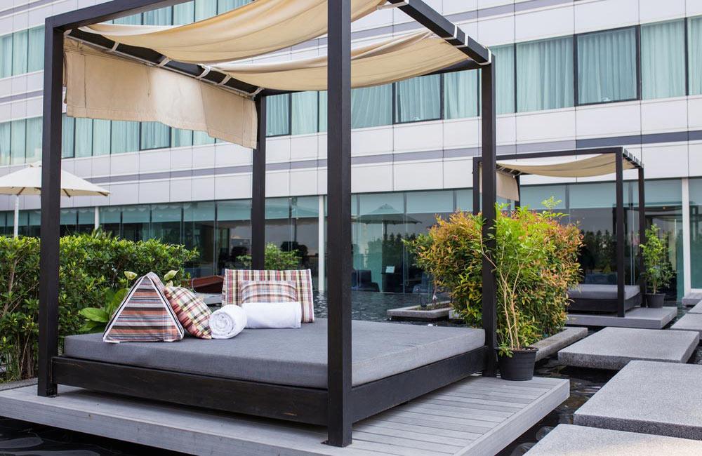Terrasse relaxation en bois